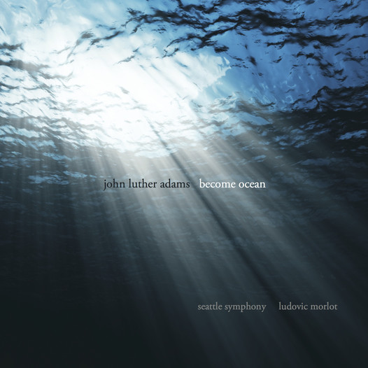 John Luther Adams - <i>Become Ocean</i> cover artwork
