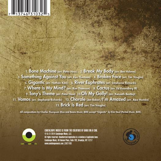 Asphalt Orchestra plays Pixies - Surfer Rosa back cover