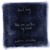David Lang - this was written by hand