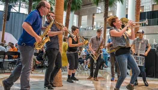 Asphalt Orchestra, photo by Stephanie Berger