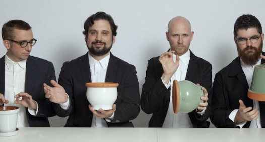 Sō Percussion, photo by Janette Beckman, 2012