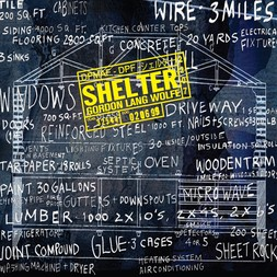 SHELTER - front cover